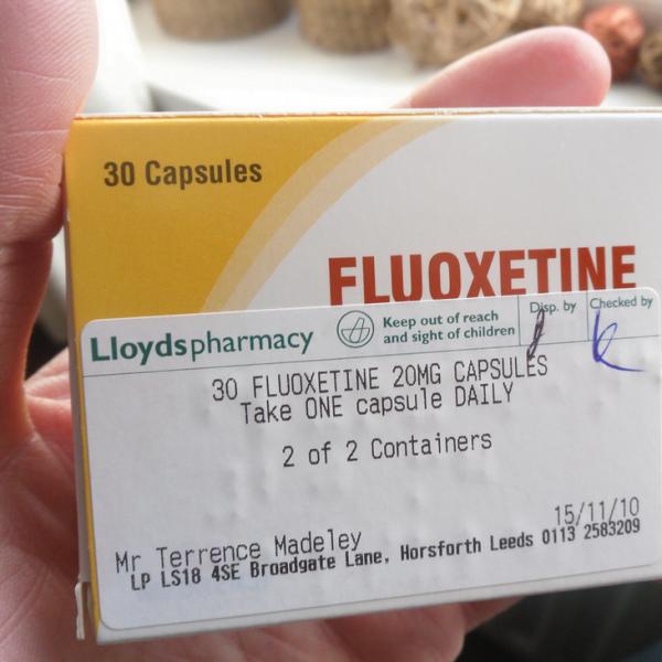 Fluoxetine Capsule Depressants