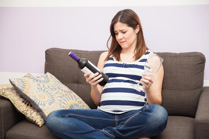 Craving some wine during pregnancy