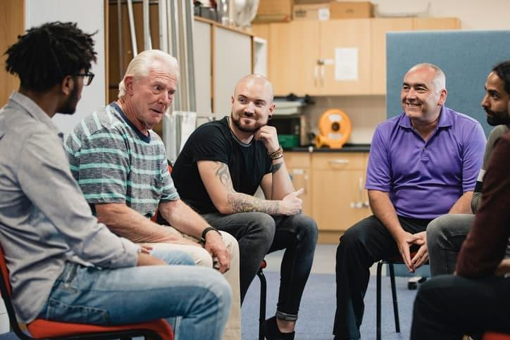 Group therapy sessions are good for speaking about how your treatment is progressing